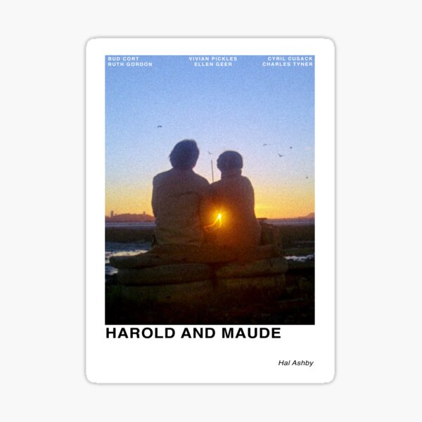 Harold and Maude Sticker