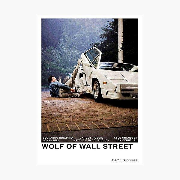 Le loup de Wall Street Impression photo