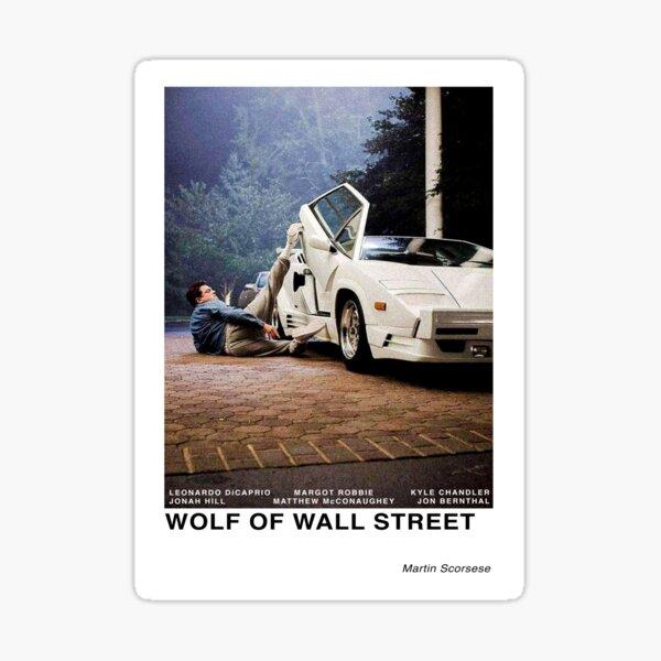 Wolf of Wall Street Sticker