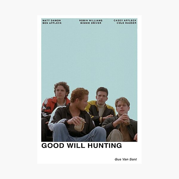 Good Will Hunting Photographic Print