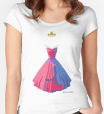 Make it Pink! Make It Blue! Women's Fitted Scoop T-Shirt
