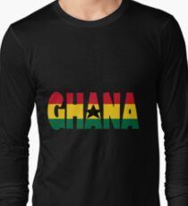 Ghana Long Sleeve T-Shirt