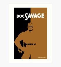 DOC SAVAGE Art Print