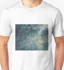 Claude Monet - Morning on the Seine T-Shirt