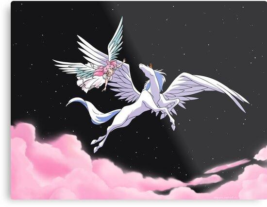 Pegasus winged unicorn - sailor cartoon by EnjoyRiot