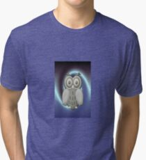 WHO .. WHO .. ME .. ME .. iphone case Tri-blend T-Shirt