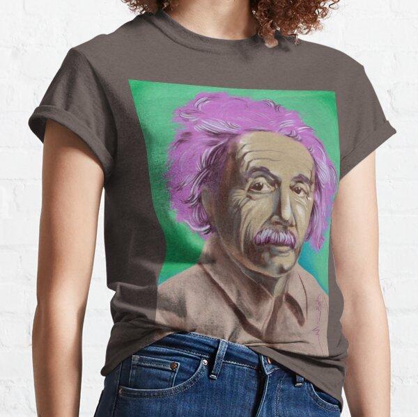 einstein portrait. Classic T-Shirt
