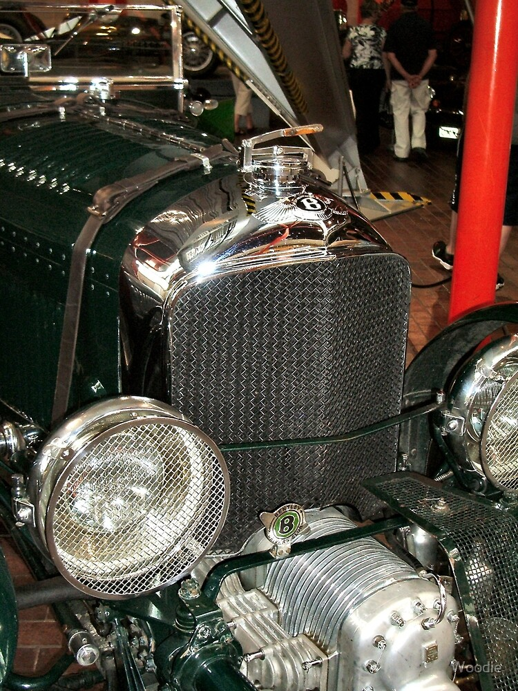 Bentley's supercharger by Woodie