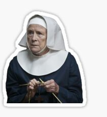 Sister Monica Joan Call the midwife  Sticker