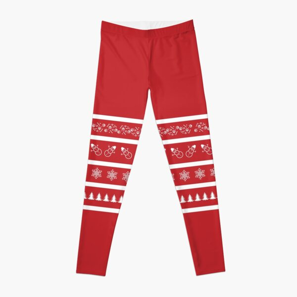 merry Christmas and happy new year Leggings