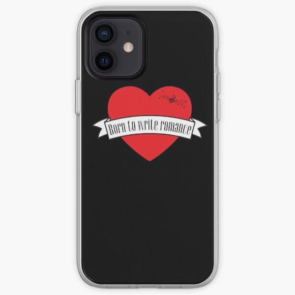 Born to Write Romance iPhone Soft Case