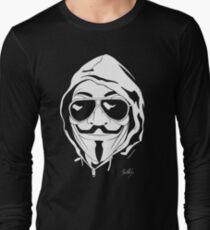 Vendetta Shades Logo Black-T Long Sleeve T-Shirt