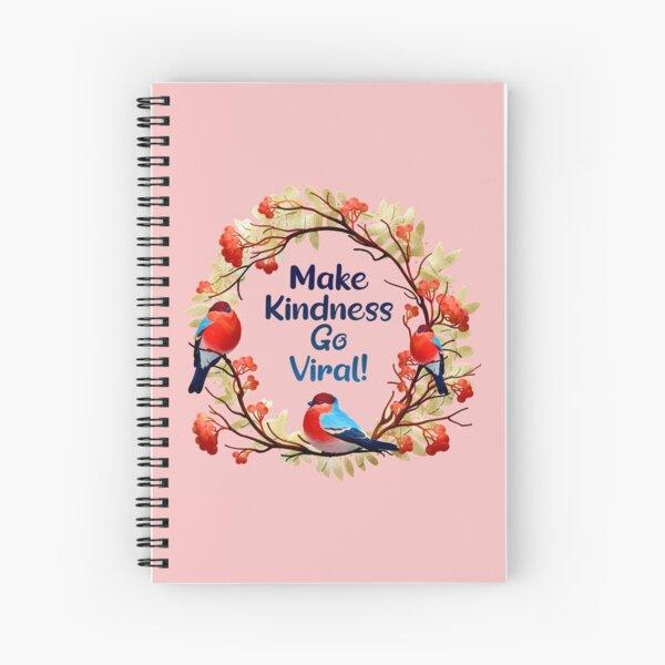 Christmas Spirit - Holiday Season 2020 - Make Kindness Go Viral  Spiral Notebook