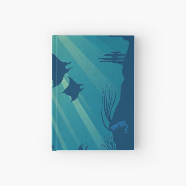 Deep Blue Hardcover Journal