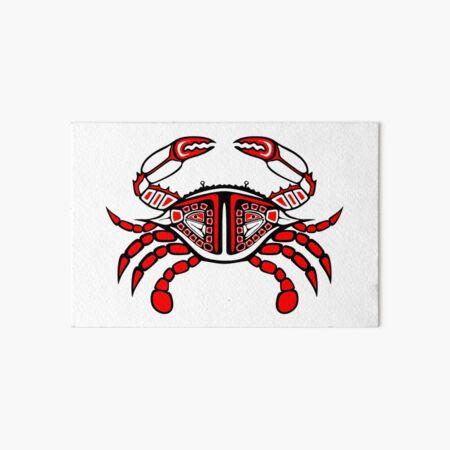 Crab Horizontal 4x6 Art Board Print