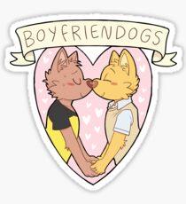 BOYFRIENDOGS Sticker