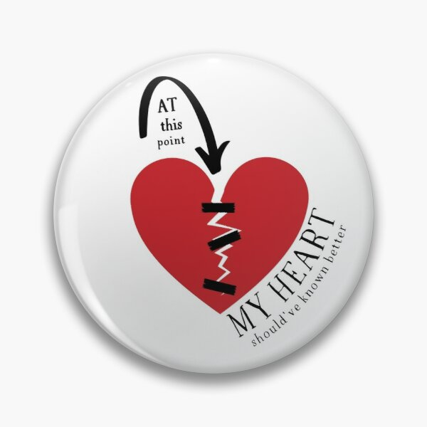 At this point my (broken) heart should've known better! Pin