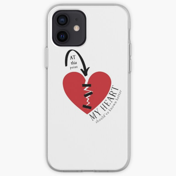 At this point my (broken) heart should've known better! iPhone Soft Case