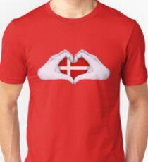 Denmark Unisex T-Shirt