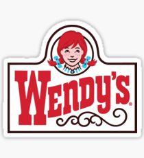 Wendy's Logo Sticker