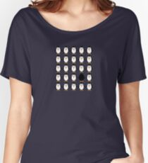 Penguin colony  Women's Relaxed Fit T-Shirt