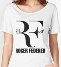 RF - PerFect -  BLACK Women's Relaxed Fit T-Shirt