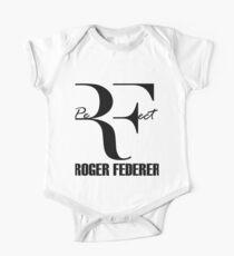 Body de manga corta para bebé RF - Perfec - NEGRO