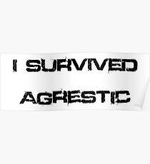 I Survived Agrestic Poster