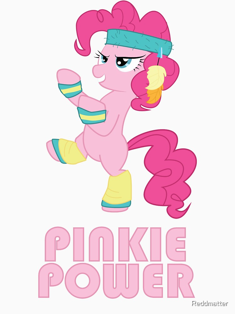 Pinkie Pie Power by Reddmatter