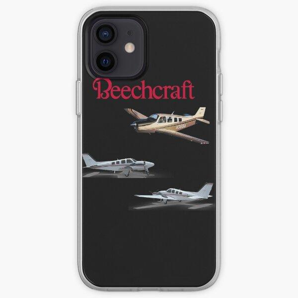 Beechcraft Musketeer pack Sticker iPhone Soft Case