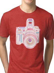 Cute Pastel Camera Tri-blend T-Shirt
