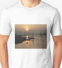 Early Hour on the River Unisex T-Shirt