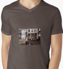 Amsterdam Streets Men's V-Neck T-Shirt