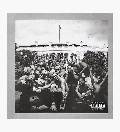 Kendrick Lamar To Pimp A Butterfly  Photographic Print
