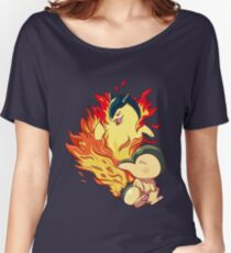 Cyndaquil Typhlosion Women's Relaxed Fit T-Shirt