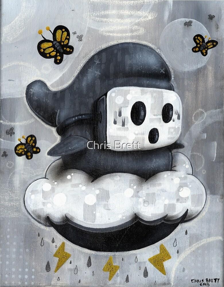 Guy Shyly by Chris Brett