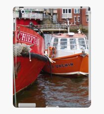 Whitby Harbour iPad Case/Skin