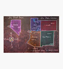 The Four Corners and The Great Basin Photographic Print
