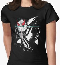 Prowl sketch Women's Fitted T-Shirt
