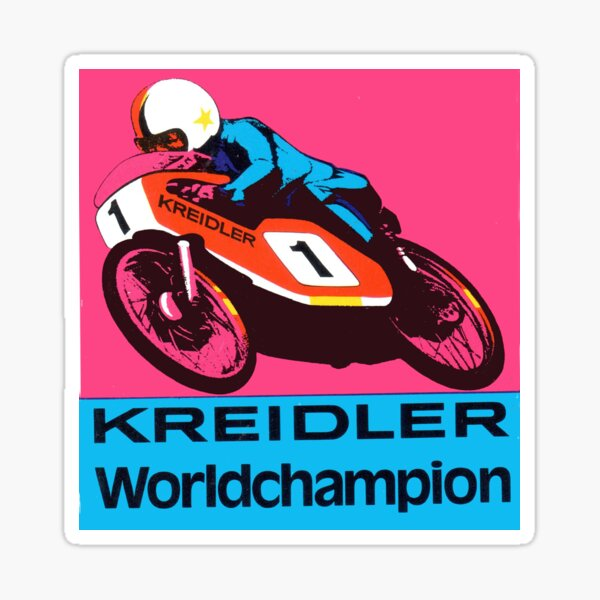 Motor Racing Cristal Pegatina Circuito Coche Clásico Racer británico GB Vintage UK