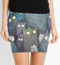Lots of Cats Mini Skirt