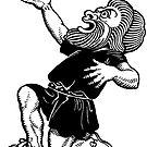 Greek tragedy pleading dwarf by Hedrin