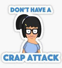 Tina Belcher - crap attack Sticker