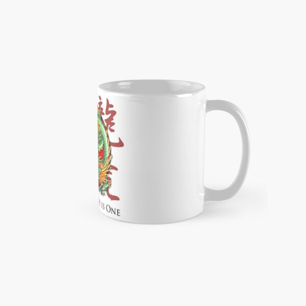 Mind and Body is One - Tiger and Dragon Classic Mug