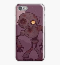 Rusty Zombie Robot  iPhone Case/Skin