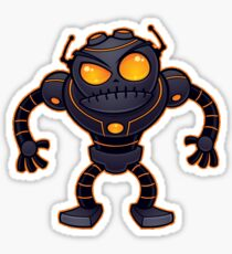 Angry Robot Sticker