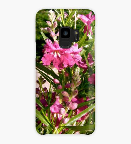 Purple flowers Case/Skin for Samsung Galaxy