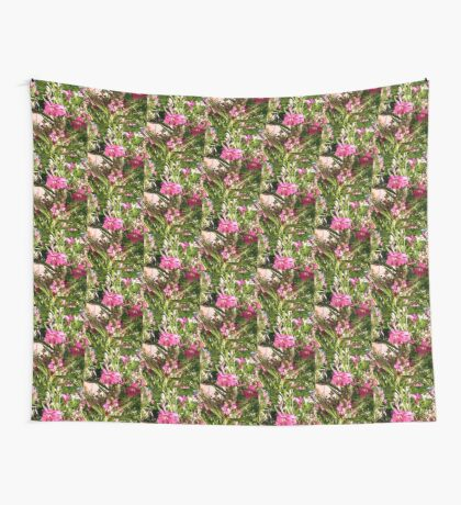 Purple flowers Wall Tapestry
