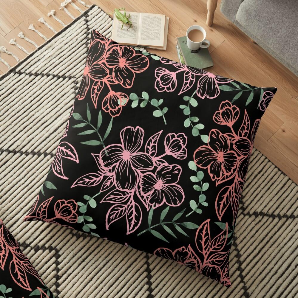 Midnight Visions Floor Pillow