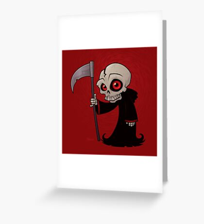 Little Reaper Greeting Card